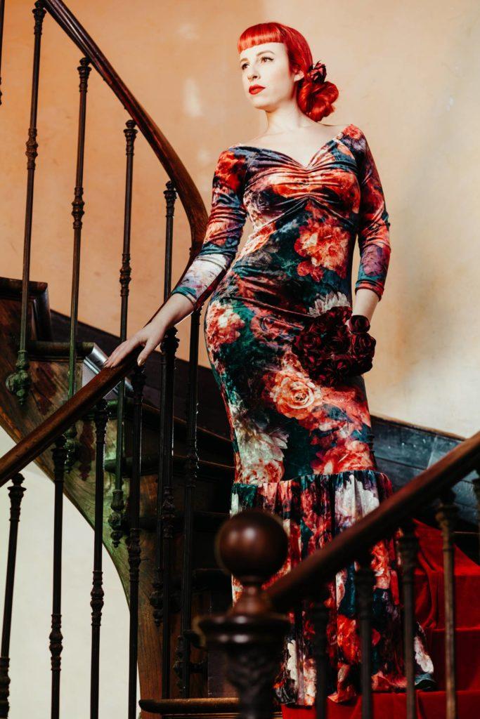 Bouquet tissu Albi Toulouse Alice Marty Fleuriste textile crédit photo ©Barth Photographie