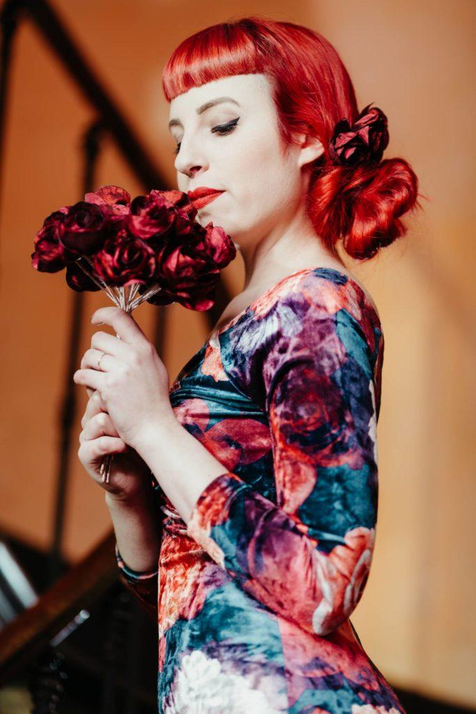 Peinge mariage Alice Marty Fleuriste textile Toulouse Albi crédit photo ©Barth Photographie