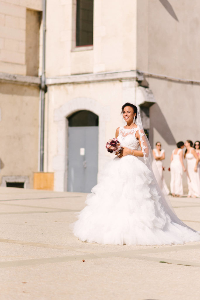Mariée princesse bouquet tissu Alice Marty Accessoires mariage Albi Toulouse Bordeaux