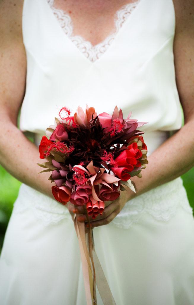 Bouquet de mariée sauvage Alice Marty Accessoires mariage Toulouse Albi Bordeaux