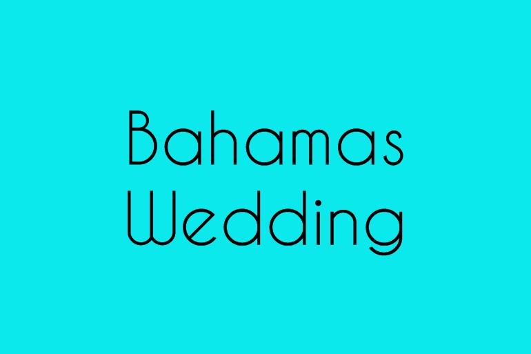 Bahamas Wedding Alice Marty