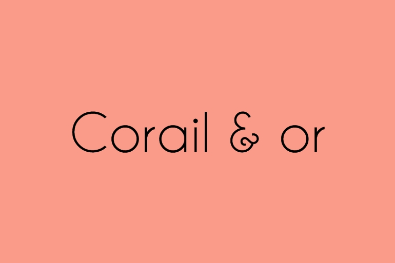 Corail et or Alice Marty