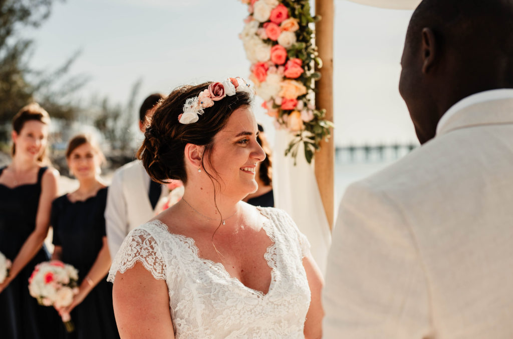 Couronne de fleurs mariée Accessoires mariage Alice Marty Toulouse Albi Bordeaux