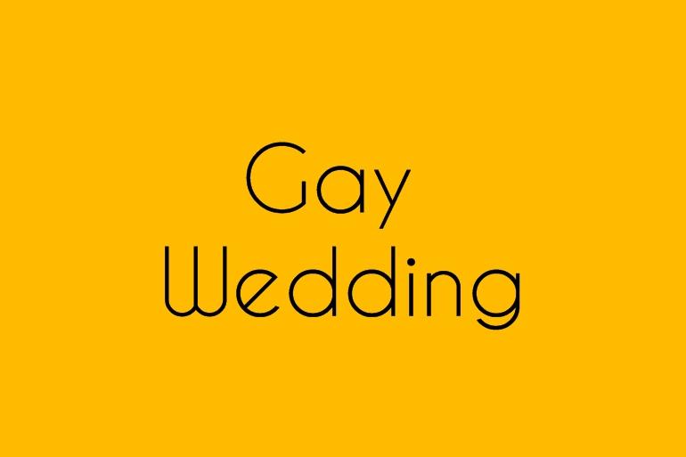 Mariage gay Alice Marty