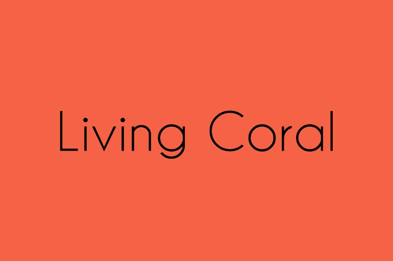 Living Coral Alice Marty