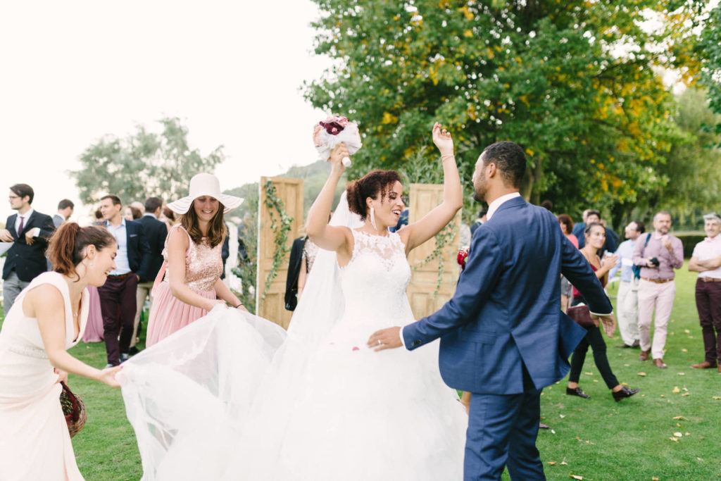Bouquet de mariée Burgundy Alice Marty Accessoires mariage Albi Toulouse Bordeaux