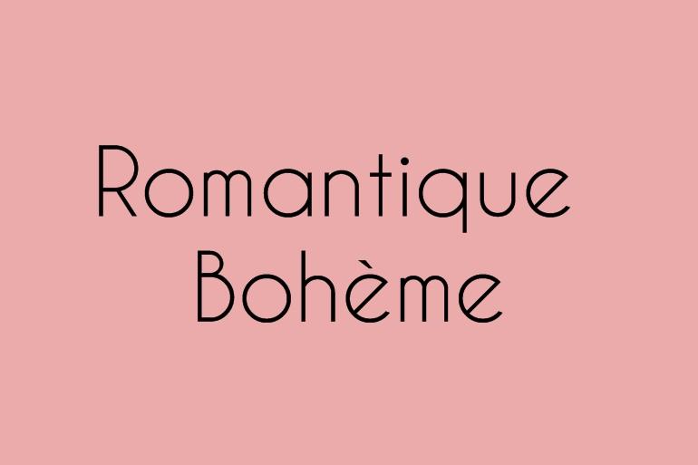 Romantique Bohème Alice Marty