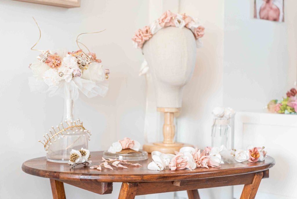 Collection Winter Showroom Alice Marty Créatrice d'accessoires mariage Toulouse Albi