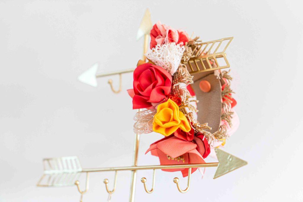 Bracelet de pied Arty Malice Créatrice d'accessoires mariage Toulouse Albi