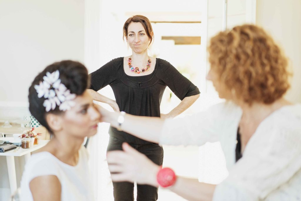 Alice Marty Créatrice d'accessoires mariage Backstage Collection Winter