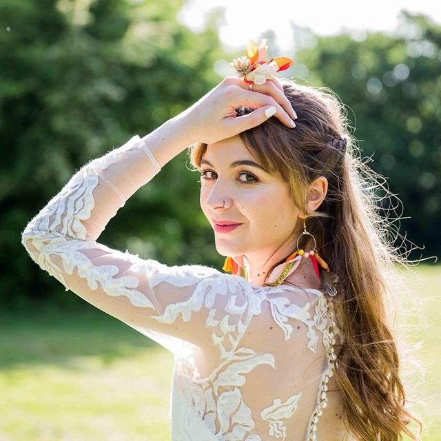 Bague Violette 3 Alice Marty - Couture florale Accessoires Mariage