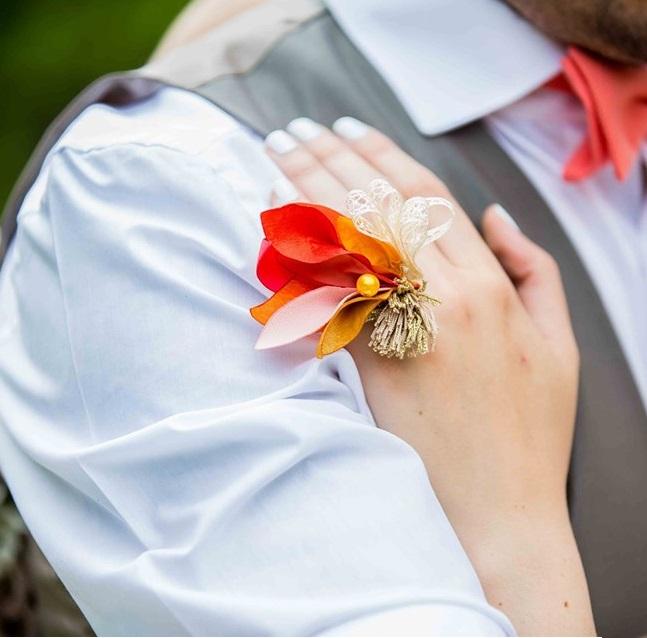 Bague Violette 4 Alice Marty - Couture florale Accessoires Mariage