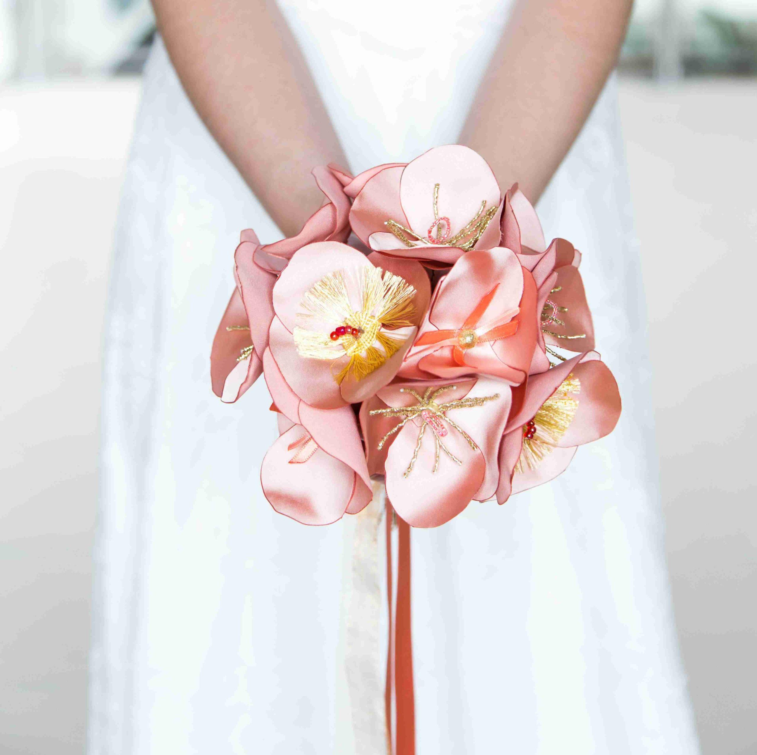 Bouquet coquelicots 2 Alice Marty - Couture florale Accessoires Mariage