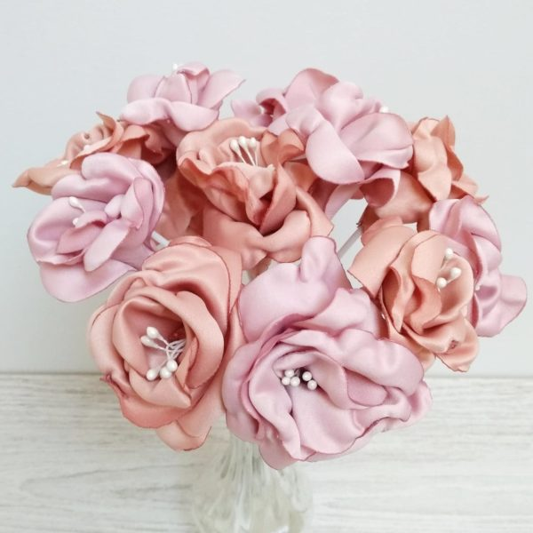 Bouquet roses anciennes 1 Alice Marty - Couture florale Accessoires Mariage