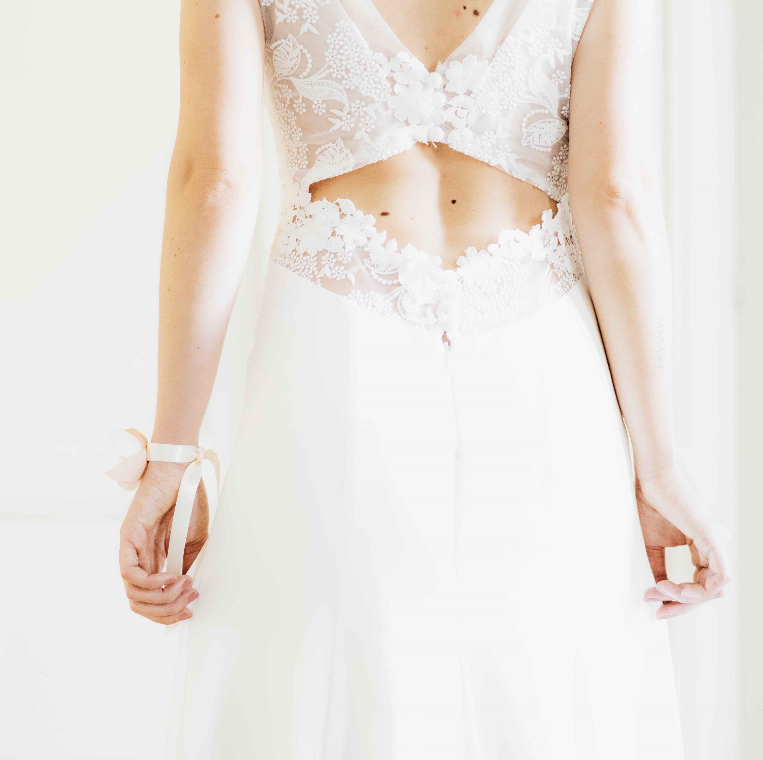 Bracelet Eléonore 3 Alice Marty - Couture florale Accessoires Mariage