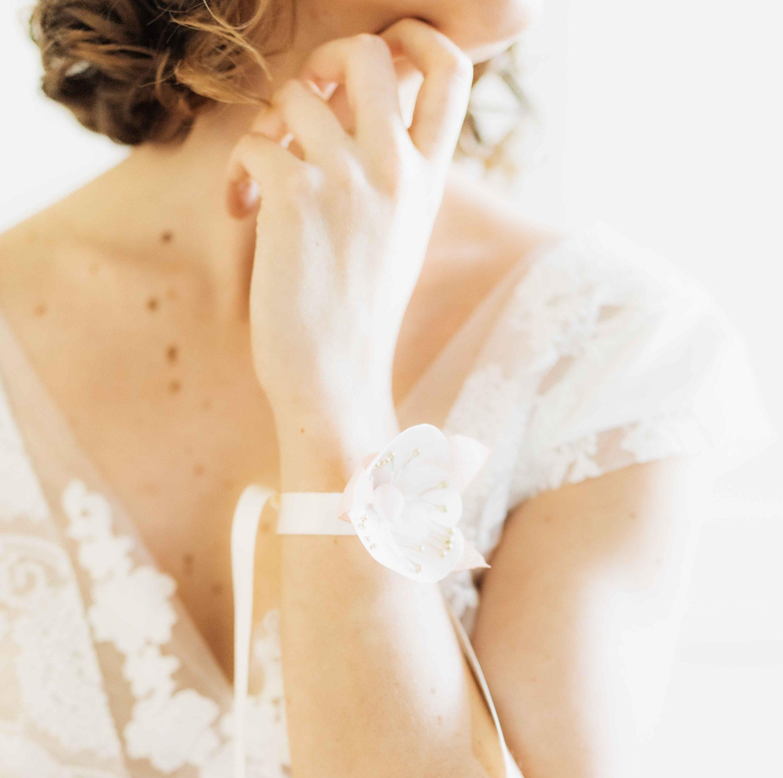 Bracelet Eléonore 4 Alice Marty - Couture florale Accessoires Mariage