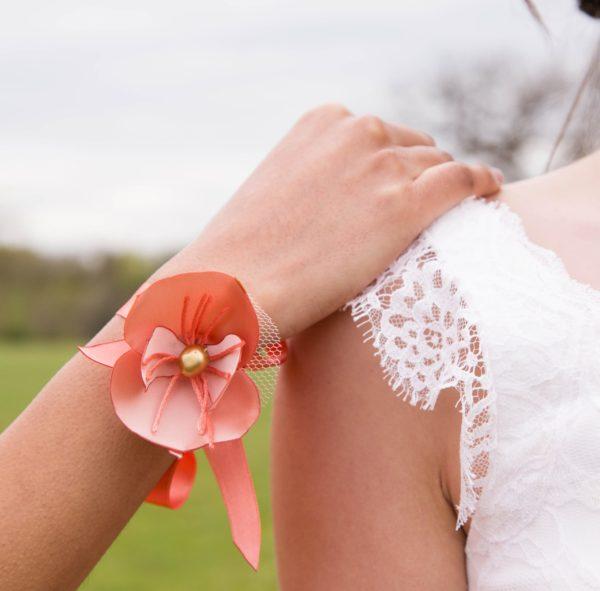 Bracelet Eléonore 6 Alice Marty - Couture florale Accessoires Mariage
