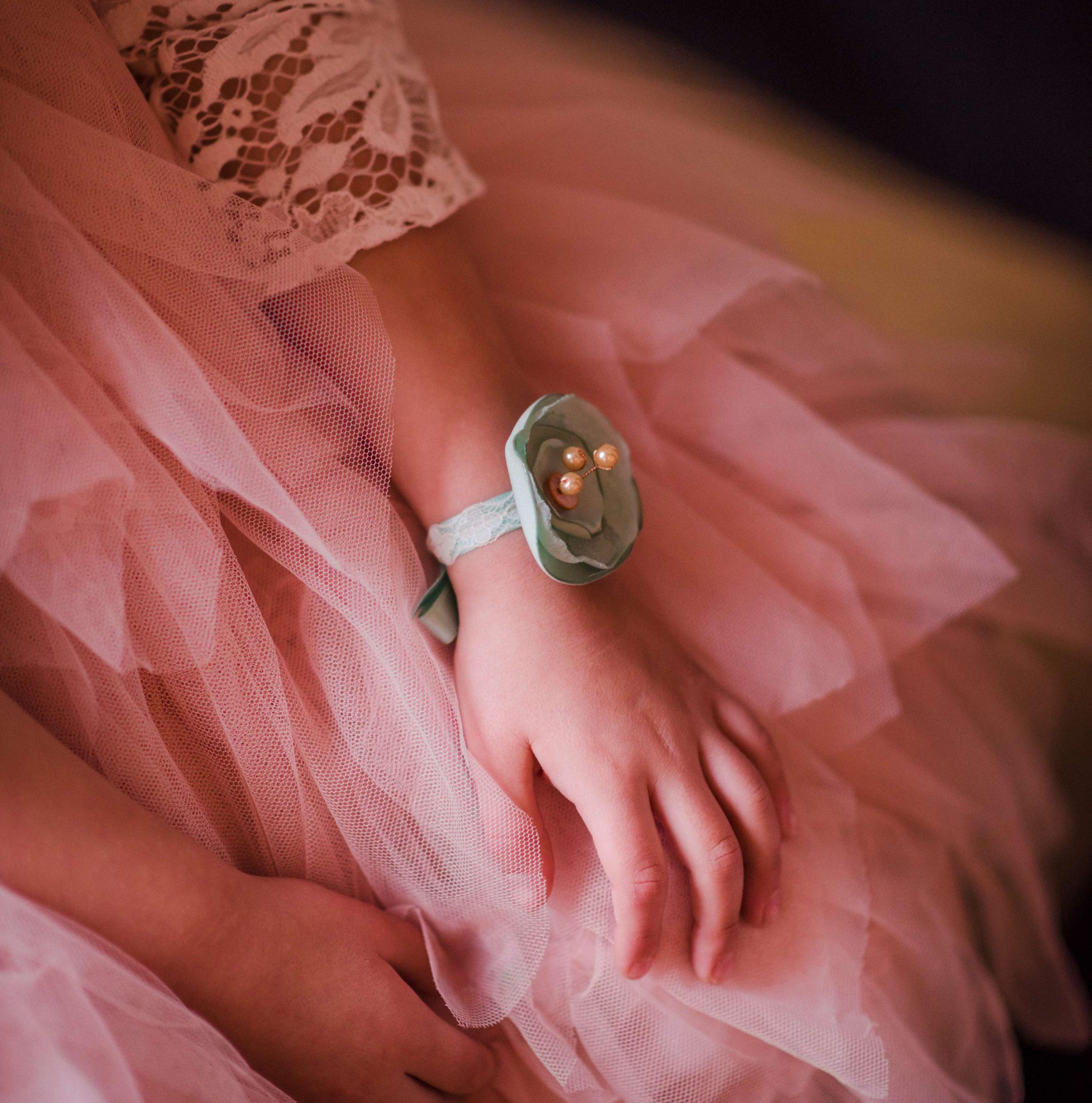 Bracelet Louise 2 Alice Marty - Couture florale Accessoires Mariage