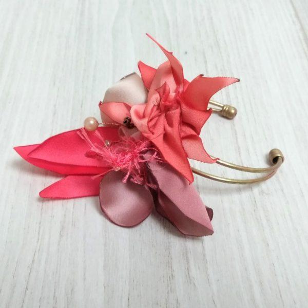 Bracelet Rose 1 Alice Marty - Couture florale Accessoires Mariage