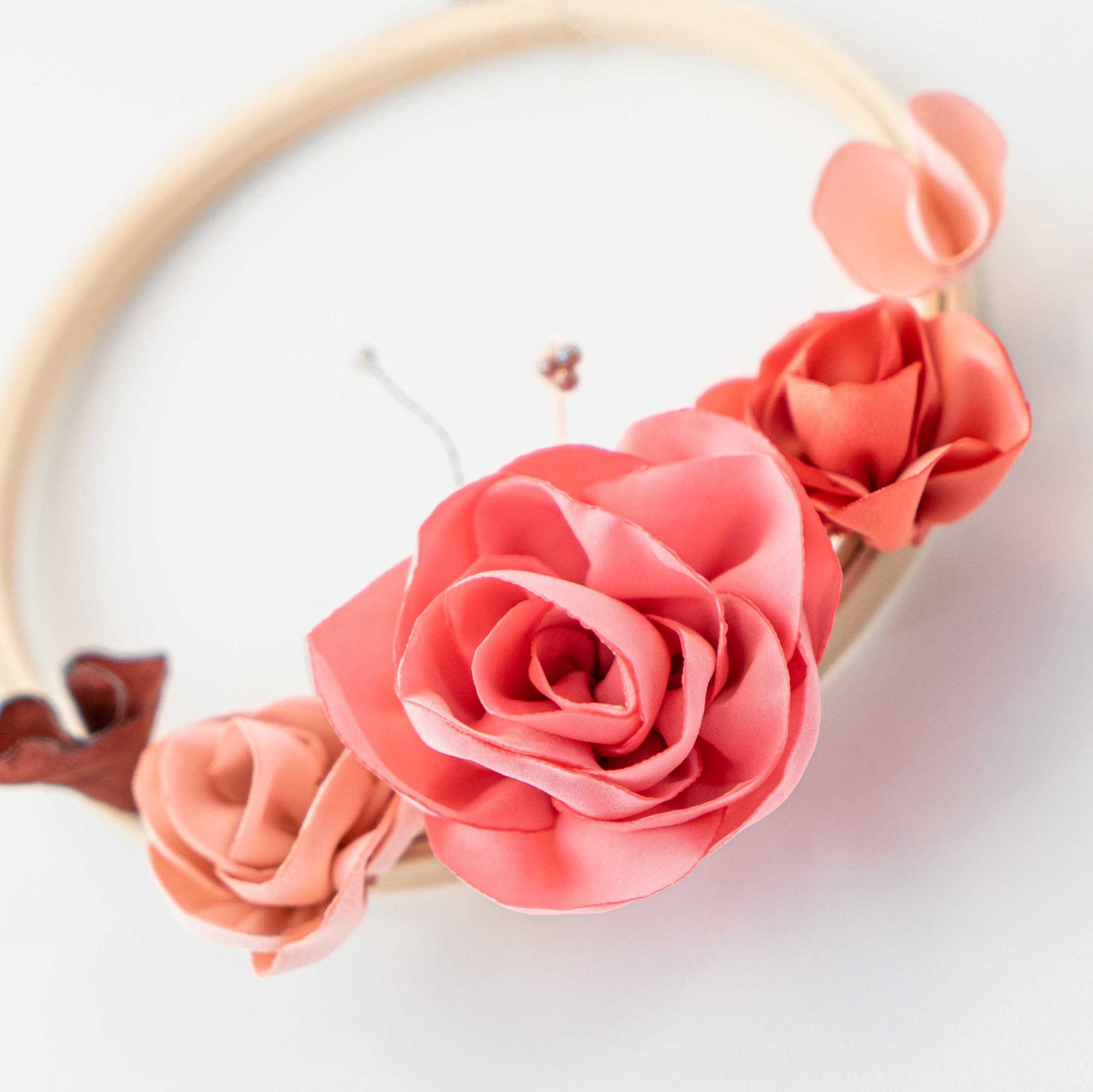 Cercle fleuri 1 Alice Marty - Couture florale Accessoires Mariage