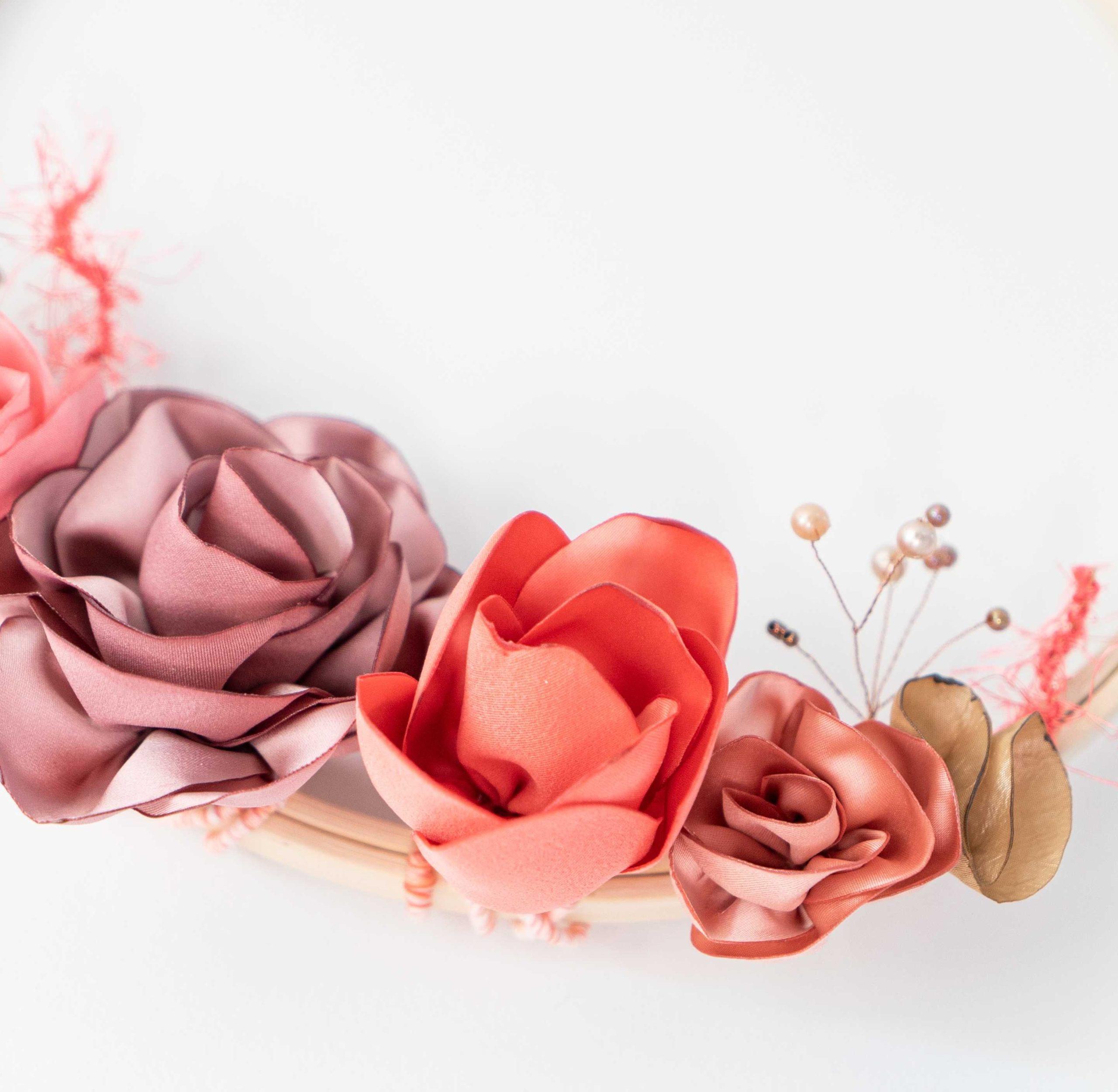 Cercle fleuri 2 Alice Marty - Couture florale Accessoires Mariage