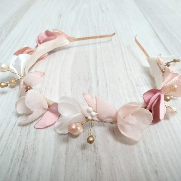 Couronne Bertille 1 Alice Marty - Couture florale Accessoires Mariage