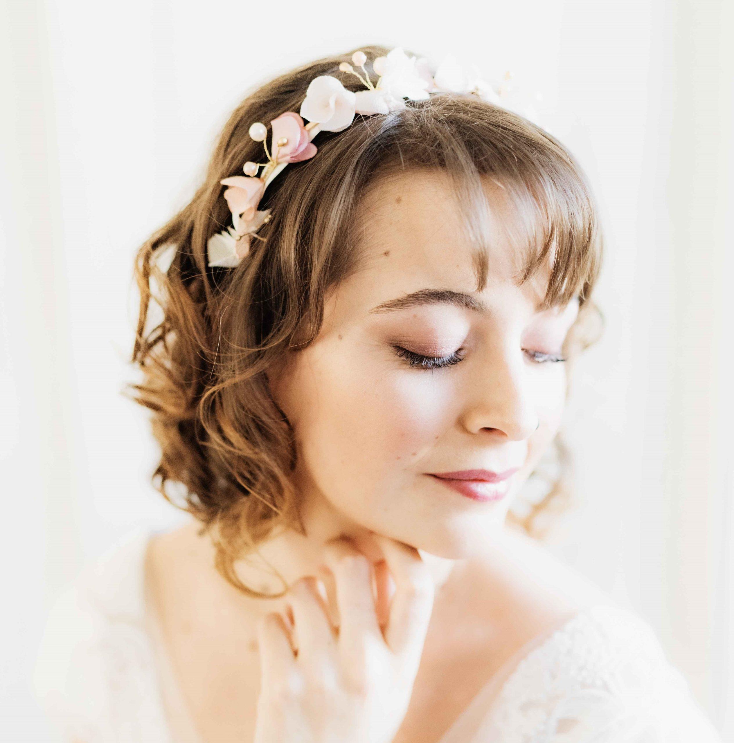 Couronne Bertille 3 Alice Marty - Couture florale Accessoires Mariage