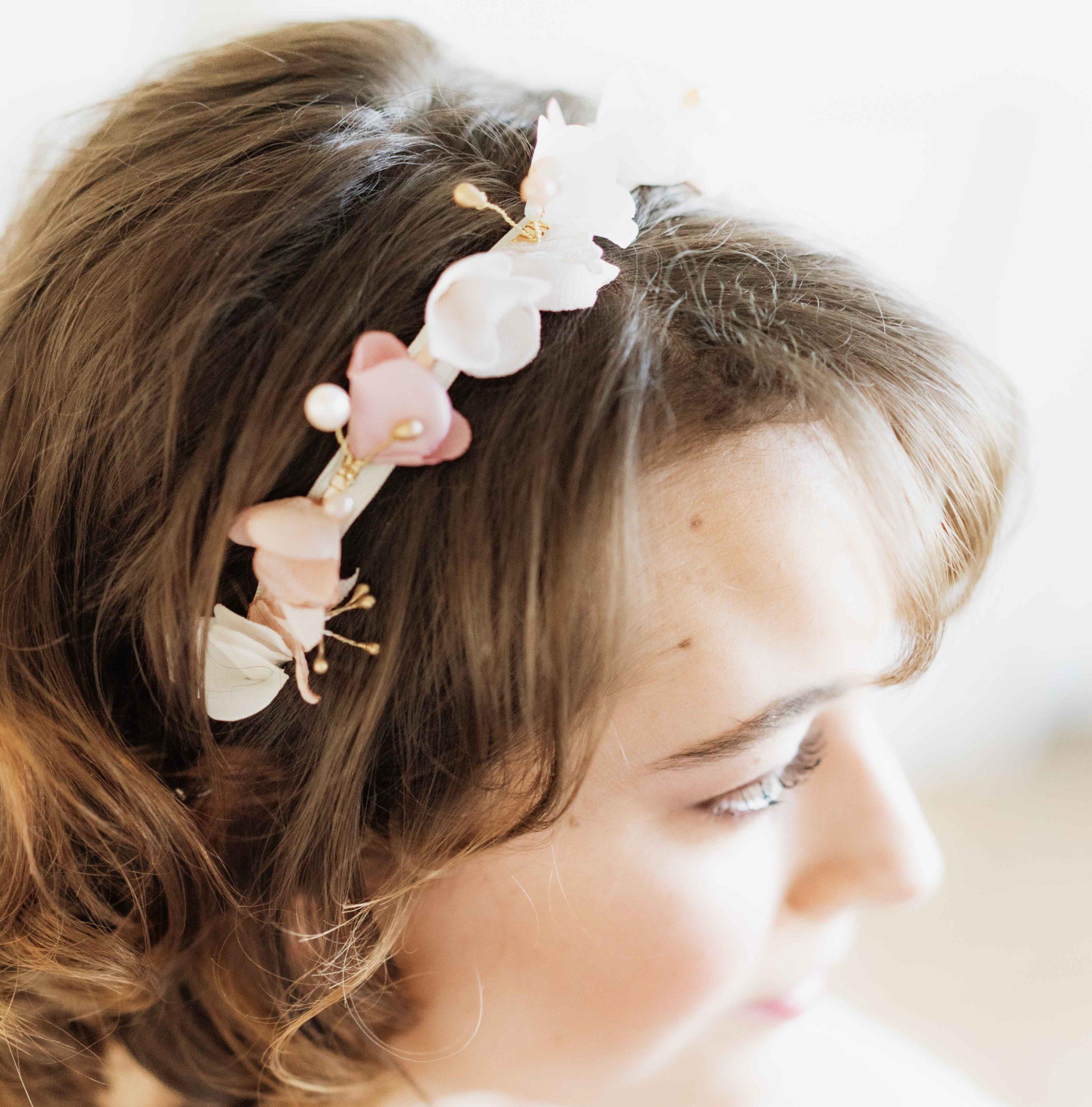 Couronne Bertille 4 Alice Marty - Couture florale Accessoires Mariage