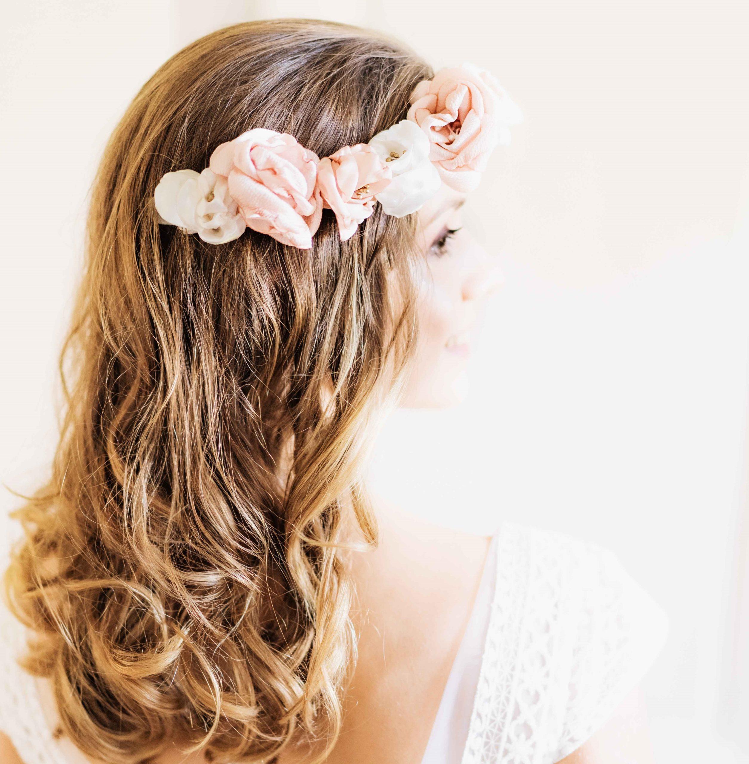 Couronne Elisabeth 3 Alice Marty - Couture florale Accessoires Mariage