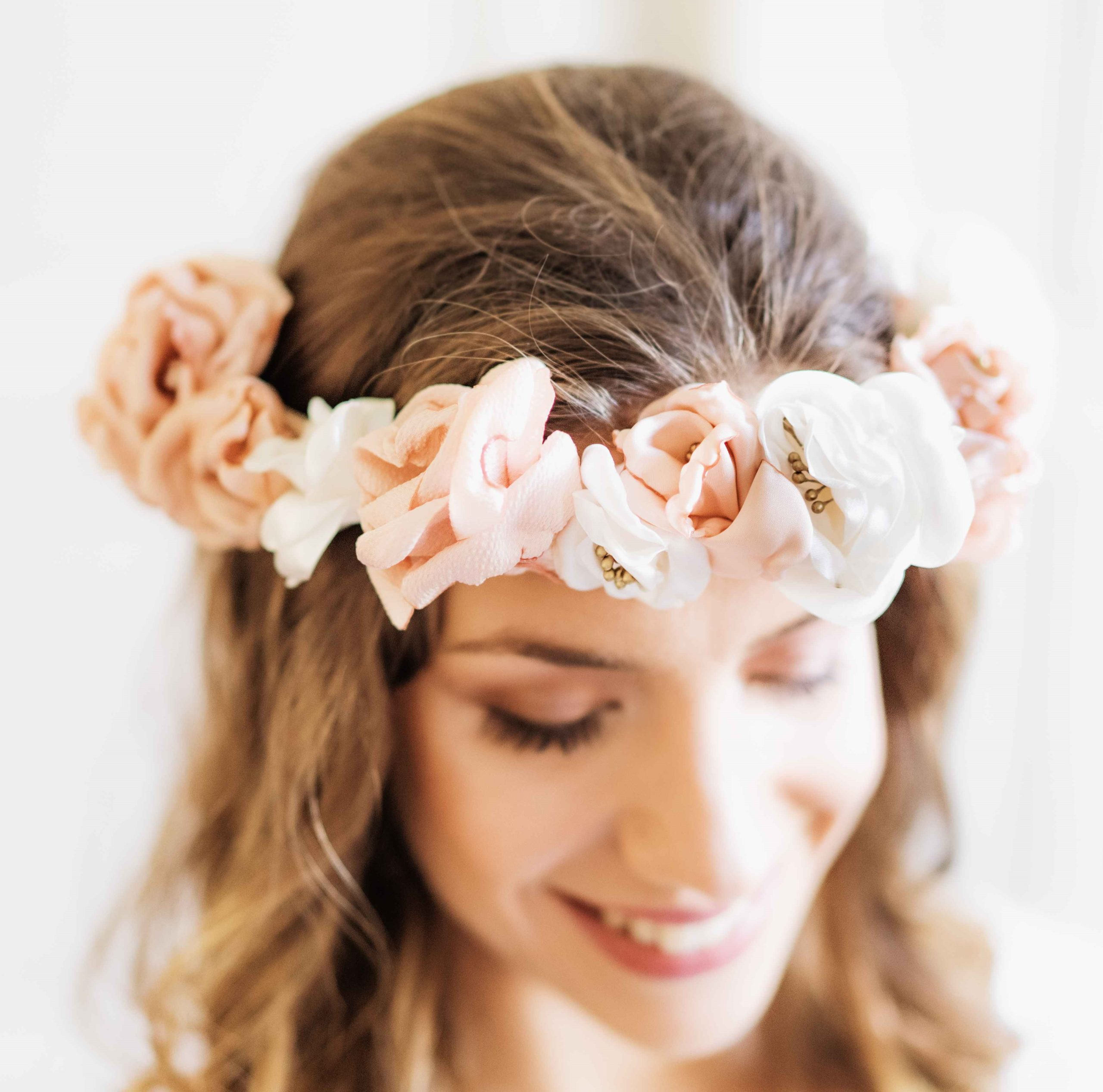 Couronne Elisabeth 4 Alice Marty - Couture florale Accessoires Mariage