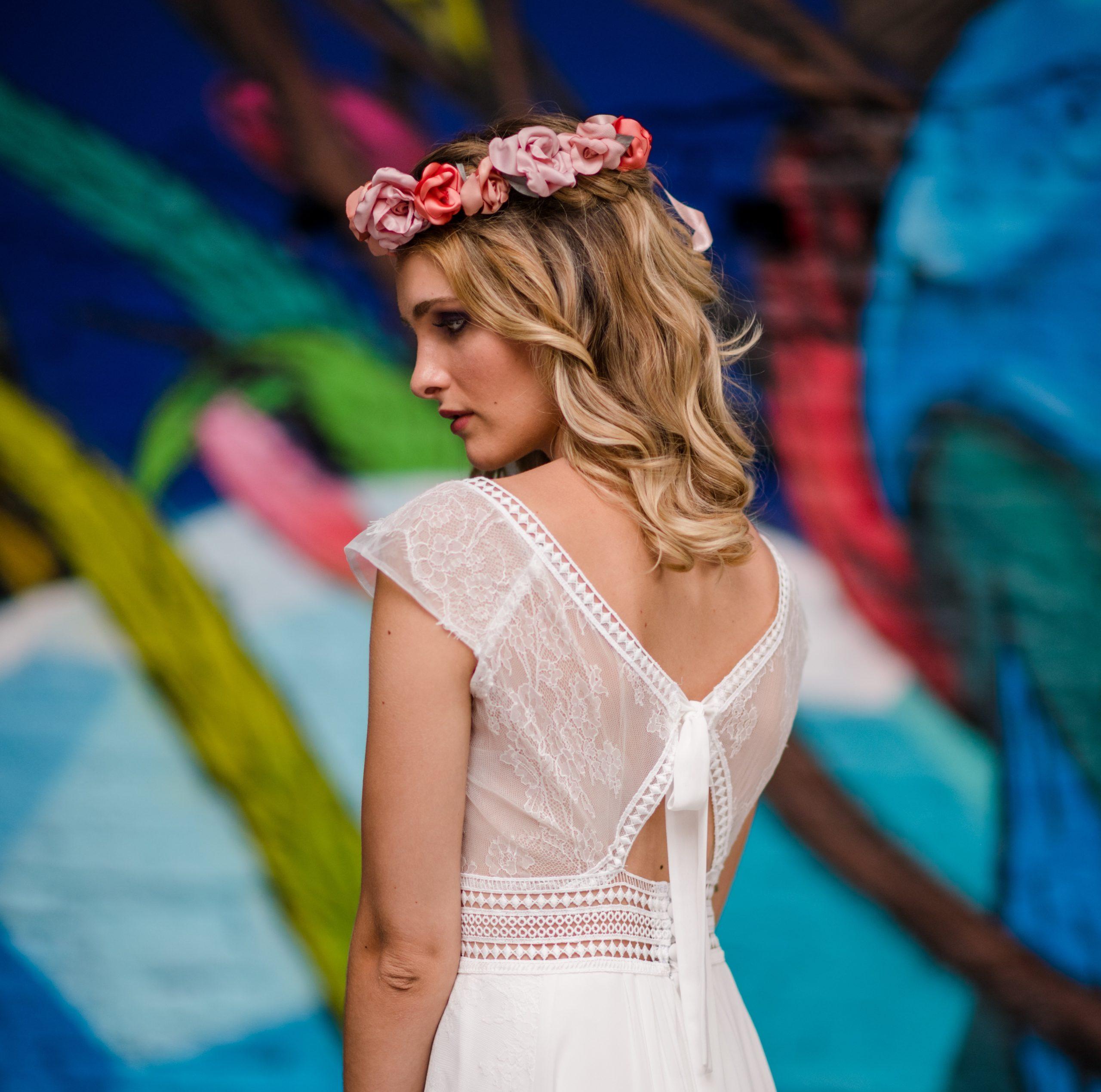 Couronne Elisabeth 5 Alice Marty - Couture florale Accessoires Mariage
