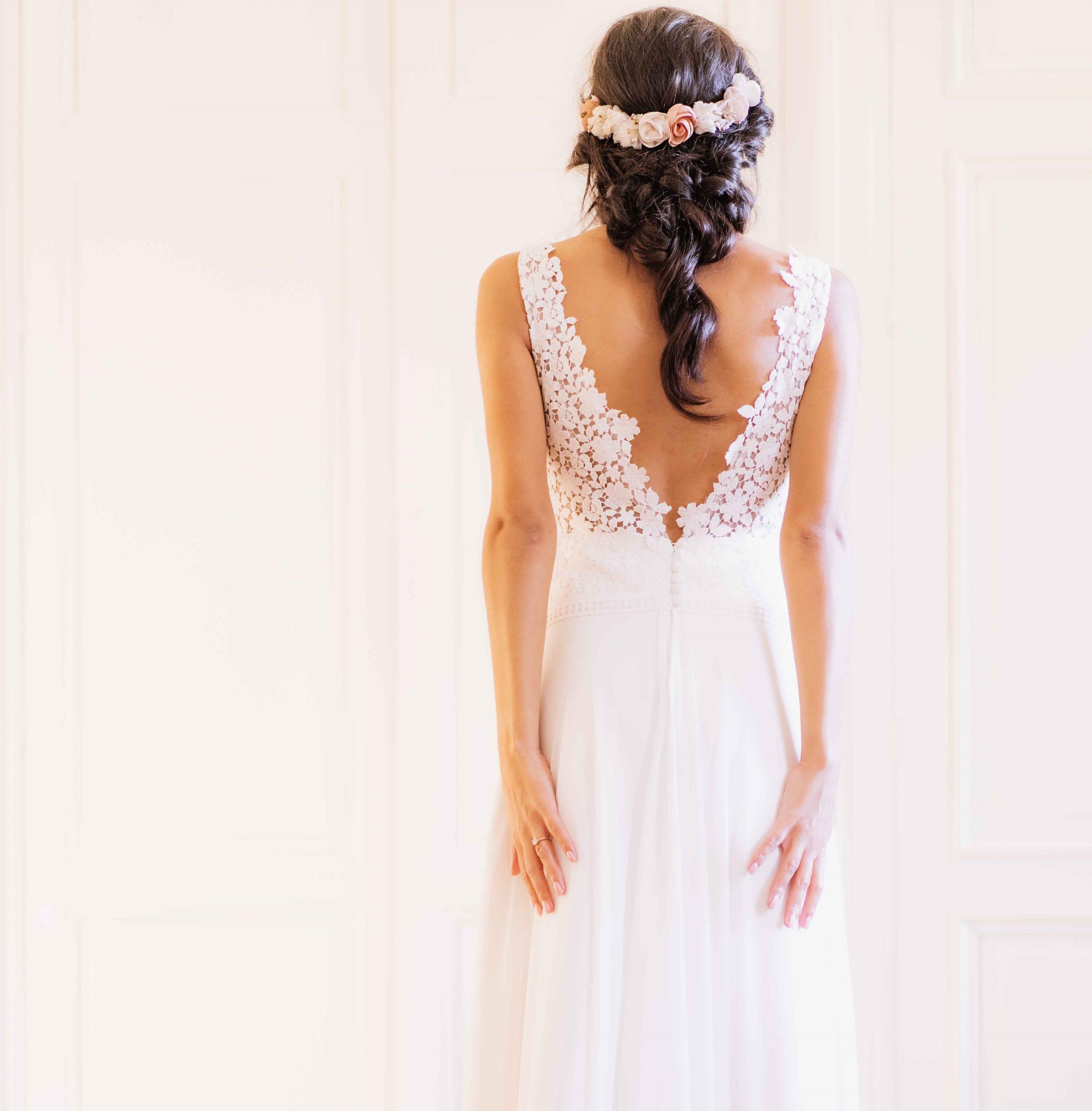 Couronne Joséphine 2 Alice Marty - Couture florale Accessoires Mariage