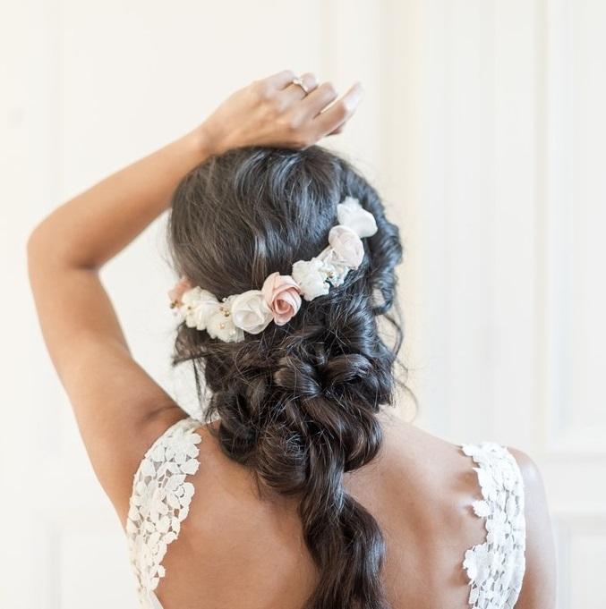 Couronne Joséphine 3 Alice Marty - Couture florale Accessoires Mariage
