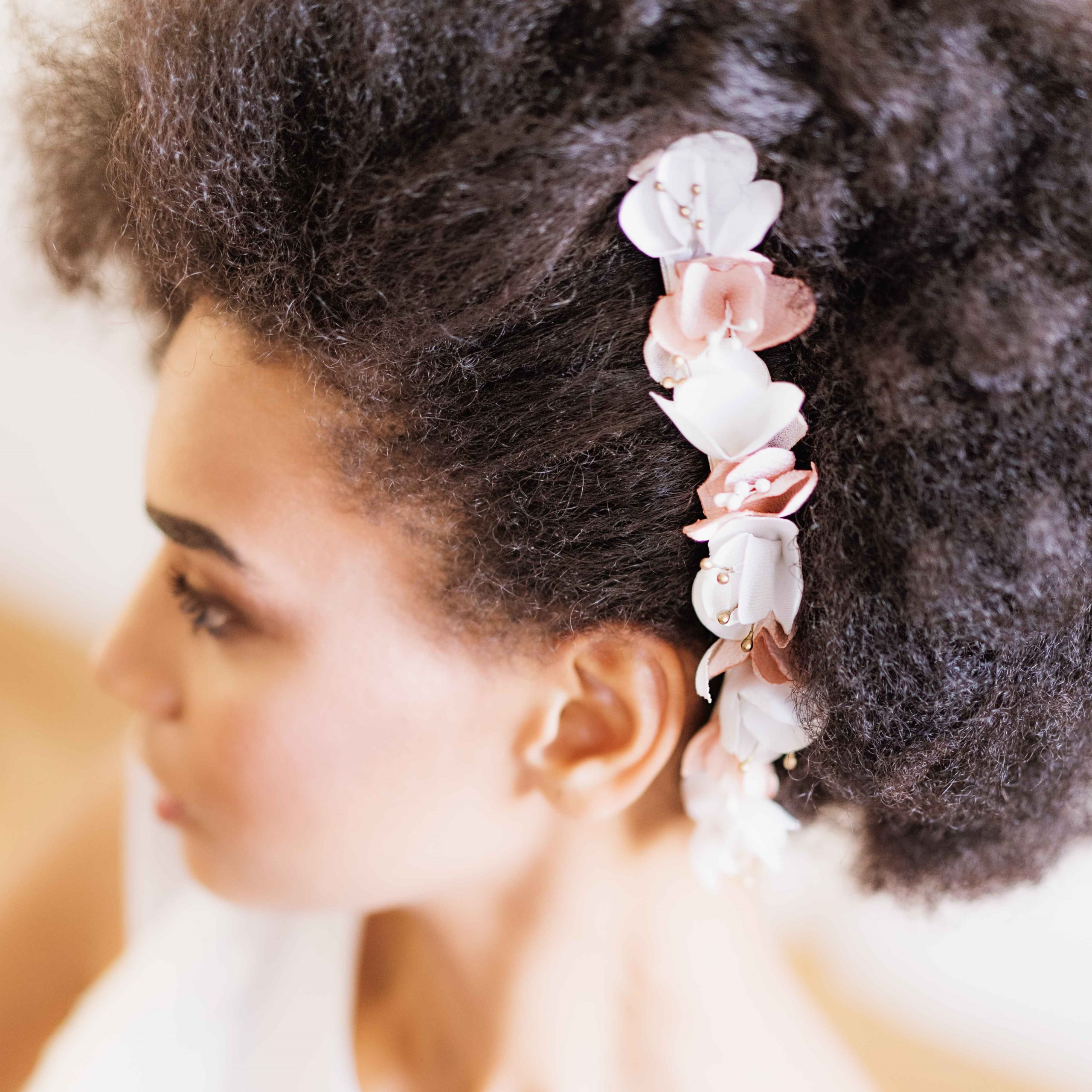 Double peigne Suzanne 4 Alice Marty - Couture florale Accessoires Mariage