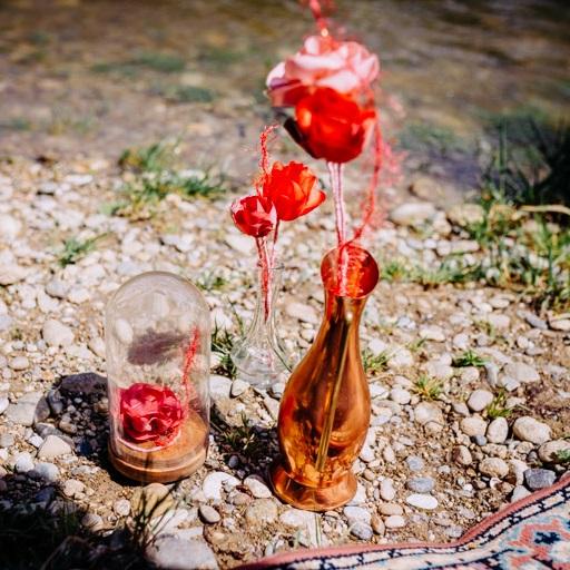 Fleurs sur tiges 2 Alice Marty - Couture florale Accessoires Mariage