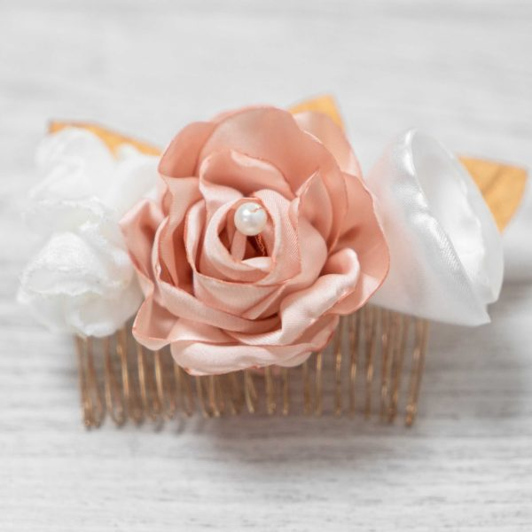Peigne Appoline 1 Alice Marty - Couture florale Accessoires Mariage