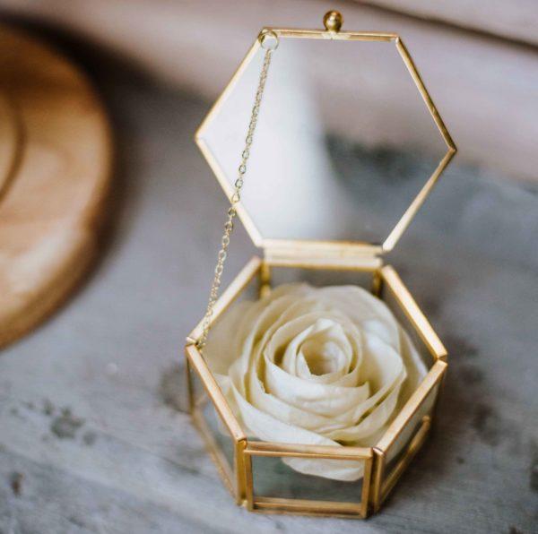 Porte alliances 1 Alice Marty - Couture florale Accessoires Mariage