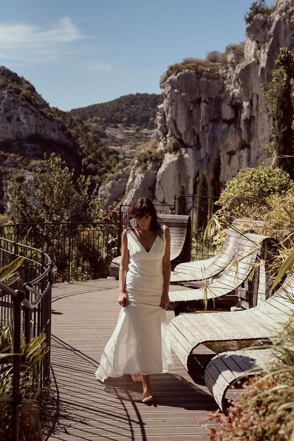 Robe Louisa Audacieuse Adélaïde Collection 2021 Alice MARTY Couture Florale Accessoires mariage et jolis jours