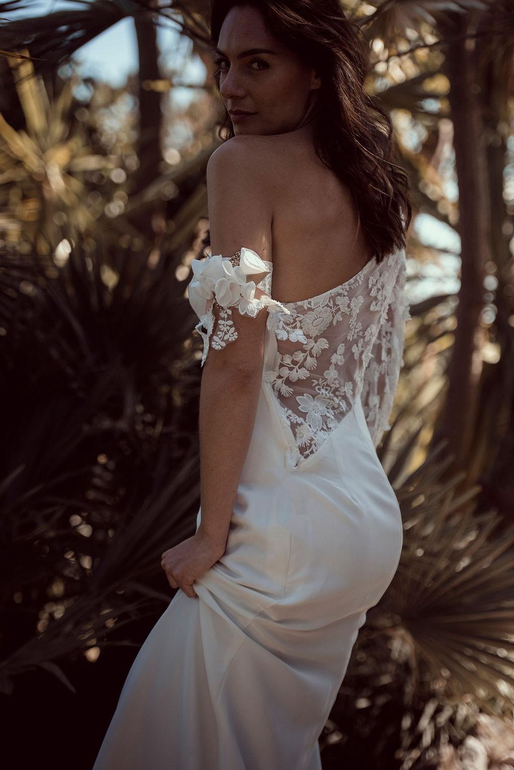 Accessoire mariage fleurs textiles Alice MARTY Couture Florale Accessoires mariage et jolis jours