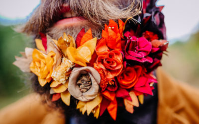 Hommes fleuris