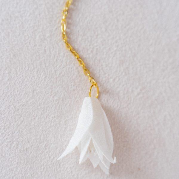 Collier de dos mariée Alice Marty - Couture florale Accessoires mariage Albi Toulouse