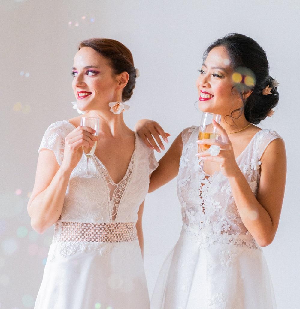Collection Glitter Accessoires pour le mariage 2021 Alice Marty - Couture florale Accessoires mariage Albi Toulouse