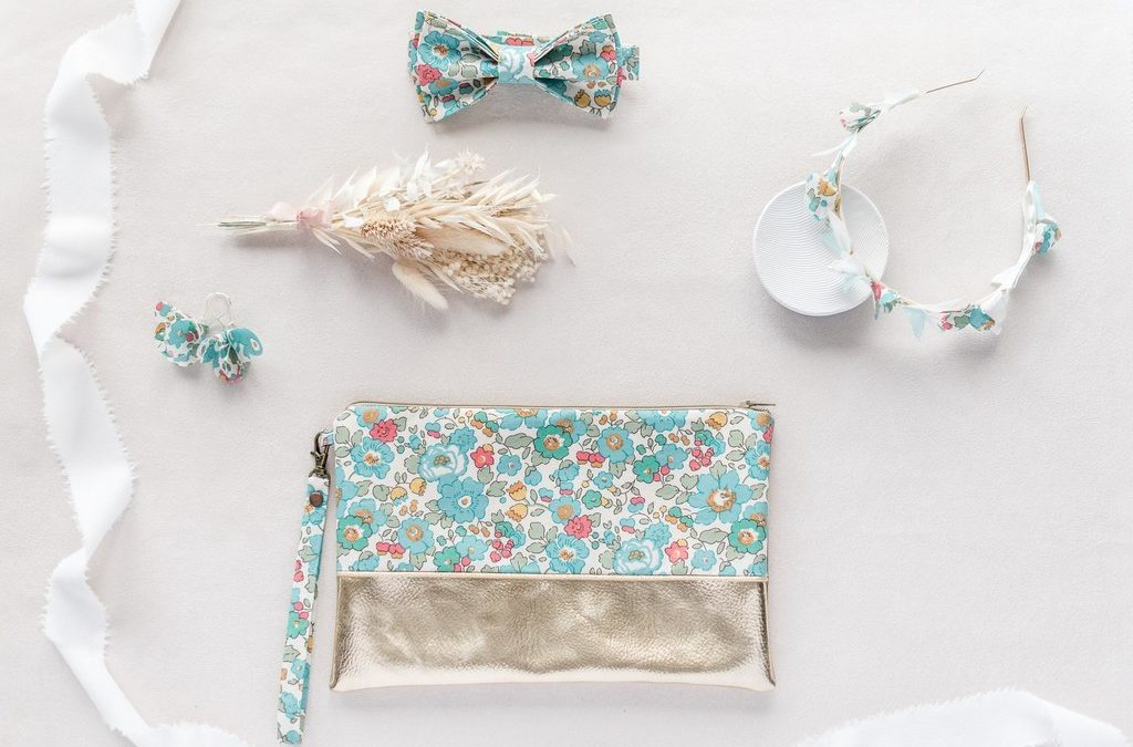 Accessoires Liberty Dress Code Mariage Collection Liberty Collaboration Alice MARTY & Melle Pap et Cie