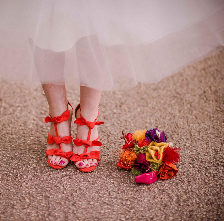Bouquet de mariée pop Alice MARTY Accessoires mariage Toulouse Albi