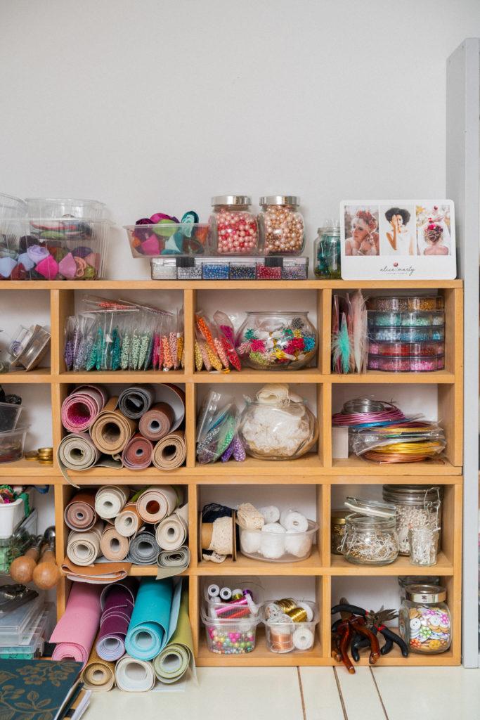 Atelier d'art en couture florale Alice MARTY Artisan d'art Albi Occitanie