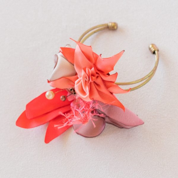Bracelet sur jonc modèle Rose Alice Marty Accessoires mariage Albi Toulouse Bordeaux