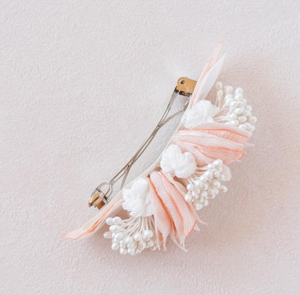 Barrette Solène Alice Marty - Couture florale Accessoires Mariage