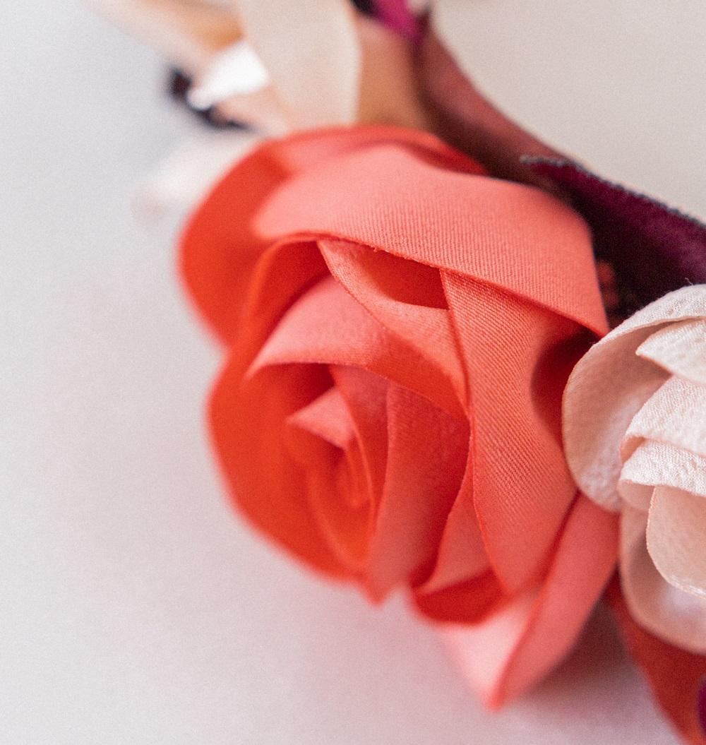 Couronne florale mariée Modèle Juliette Alice MARTY Créatrice mariage Albi Toulouse