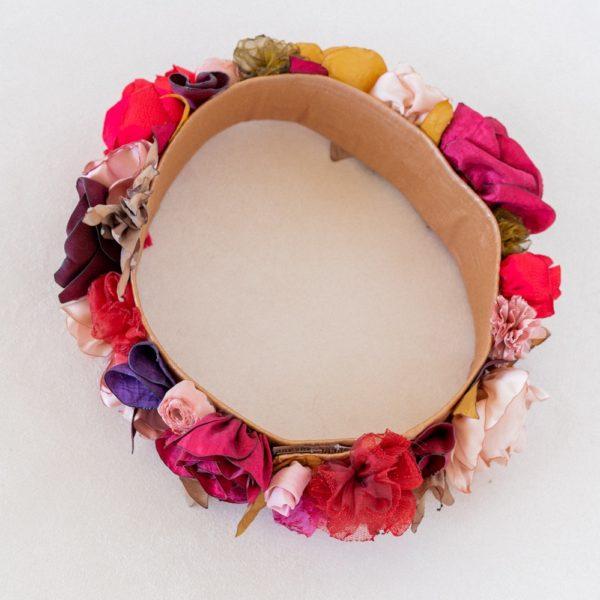 Couronne florale mariée Elia XXL Alice MARTY Accessoires mariage Toulouse Albi