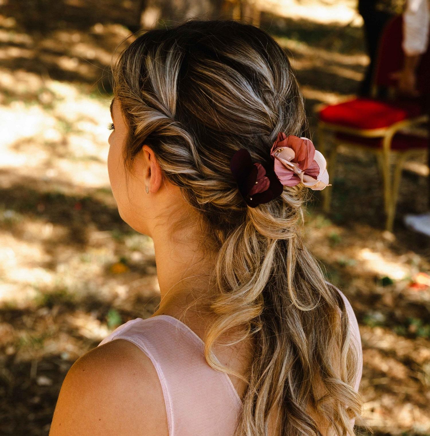 Epingles Valentine couleurs d'automne Alice MARTY Accessoires mariage Toulouse Albi